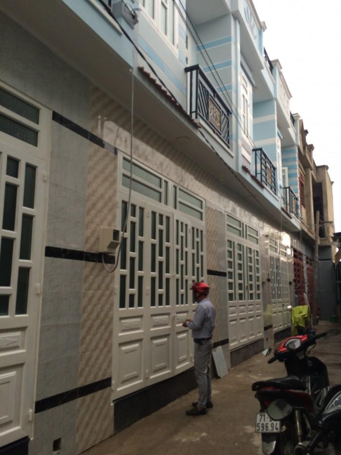 Nhà 1 sẹc Vĩnh Lộc 570tr 1 trệt 1 lầu mới đầy đủ tiện nghi