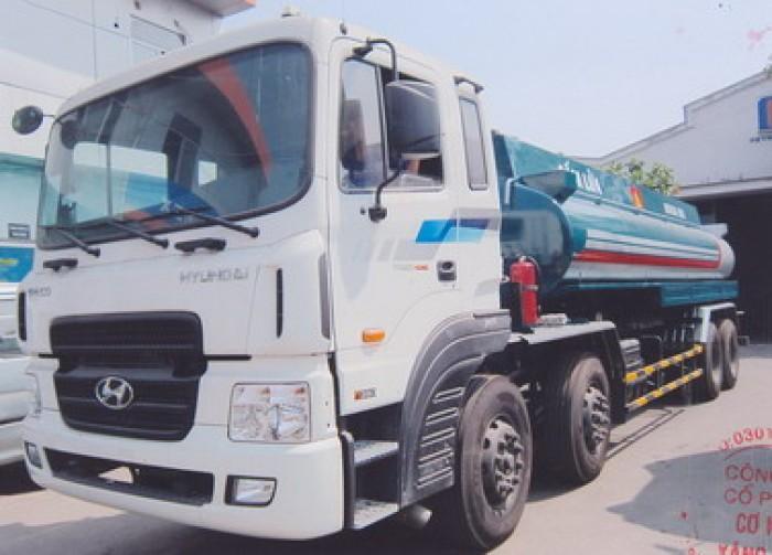 Bồn dầu Diesel Hyundai HD320 18 khối