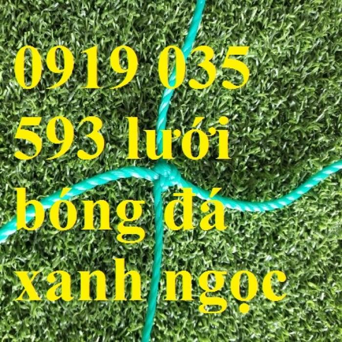 Lưới bóng đá chuyên dụng trong sân cỏ nhân tạo, lưới rào sân bóng, hàng rào lưới