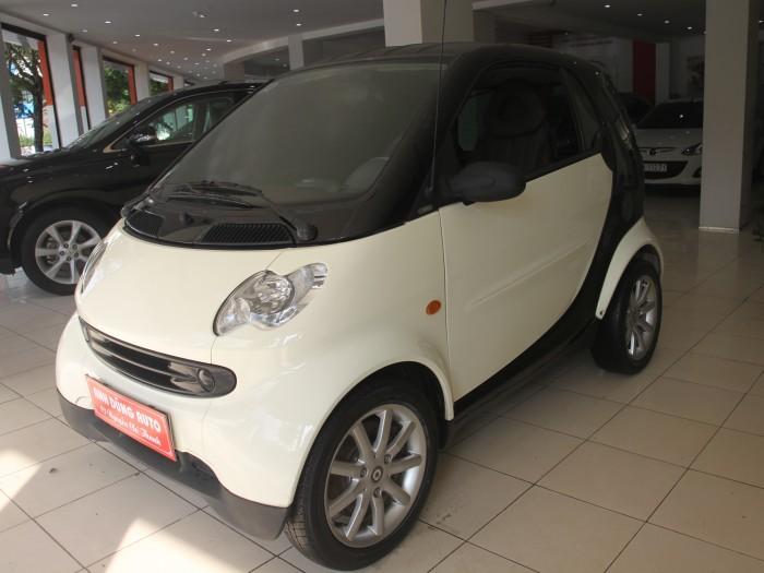 Smart ForTwo sản xuất năm 2006 Số tự động Động cơ Xăng