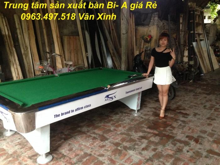 Bán bàn bi a tại Thái Nguyên, bán phụ kiện bi-a tại