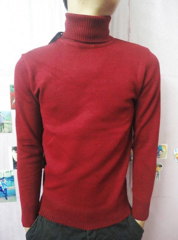 Bán sỉ áo len nam cổ lọ dệt kim số lượng lớn1