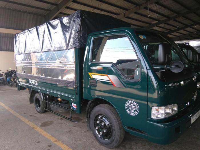 Chỉ cần 120tr có xe Kia165S 2T4 xe tải nhẹ máy dầu, thương hiệu Kia, quen thuộc bền bỉ