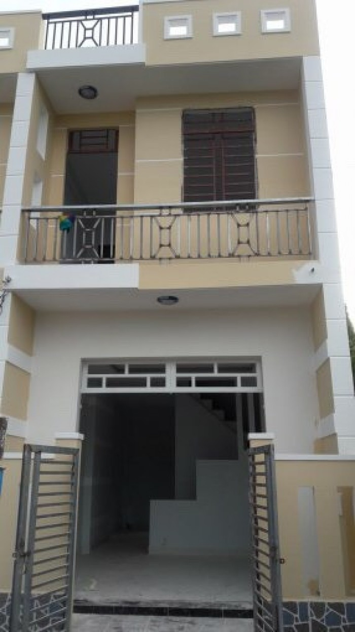 Nhà bán 1 lầu chính chủ sổ hồng riêng DT 4x24m