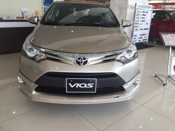 Bán Toyota Vios 1.5G giá 600 triệu đồng
