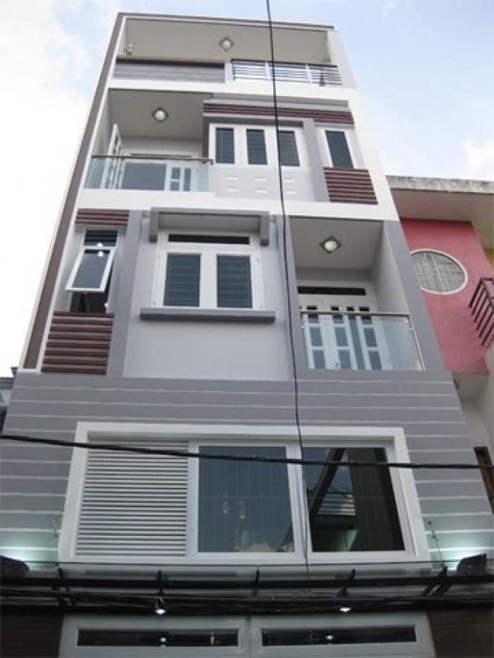 Nhà đường 6m TRẦN VĂN QUANG, P10, Q.Tân Bình. DT 7x28m. XD 1 lầu.