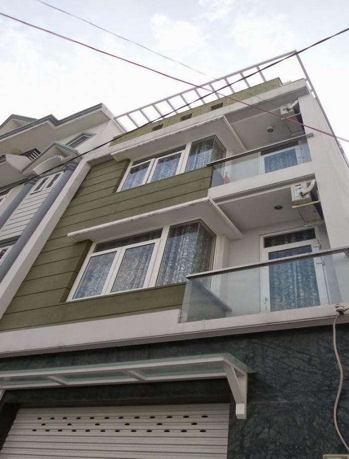Nhà đường 5m NHẤT CHI MAI, P13, Q.Tân Bình. DT 4,2x20m2. XD 3 lầu.