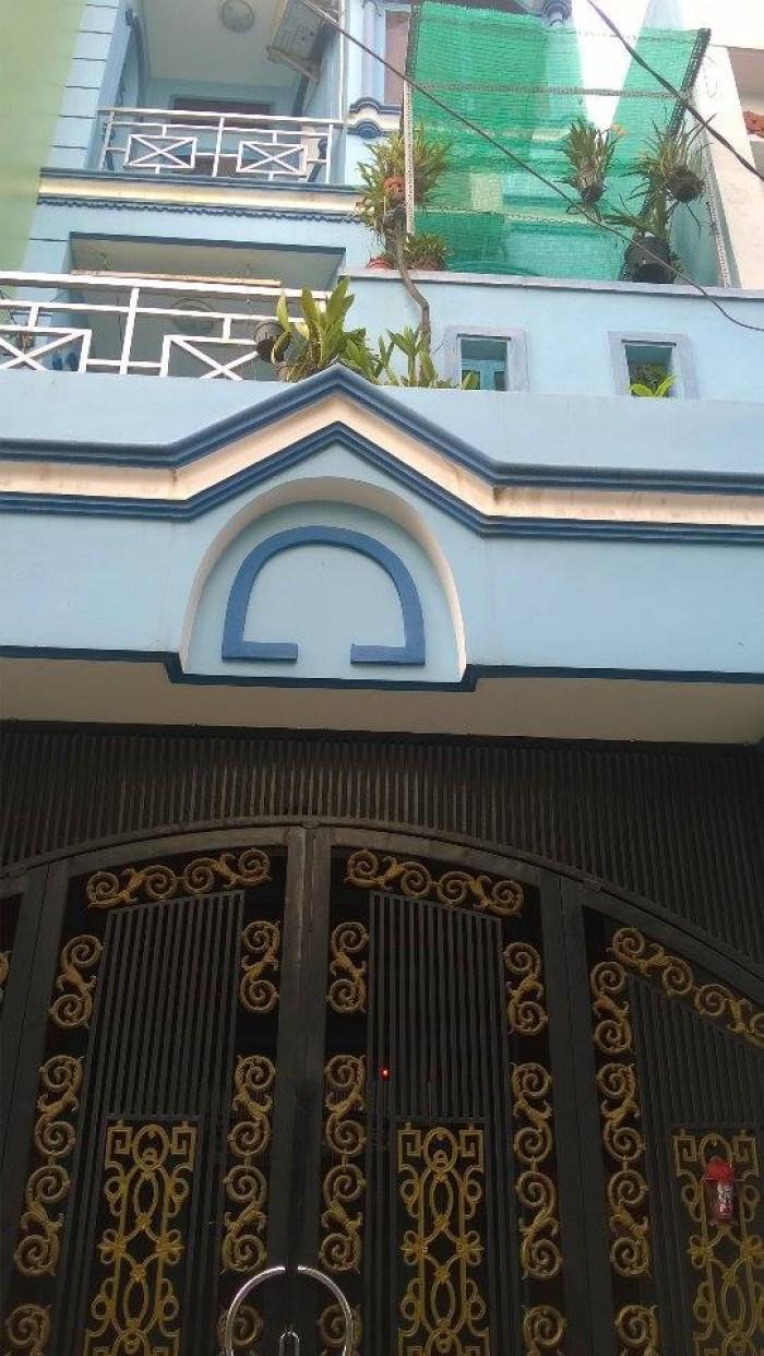 Nhà 1/ hẻm 413 LVQ,P.BTĐA .SHR 100%