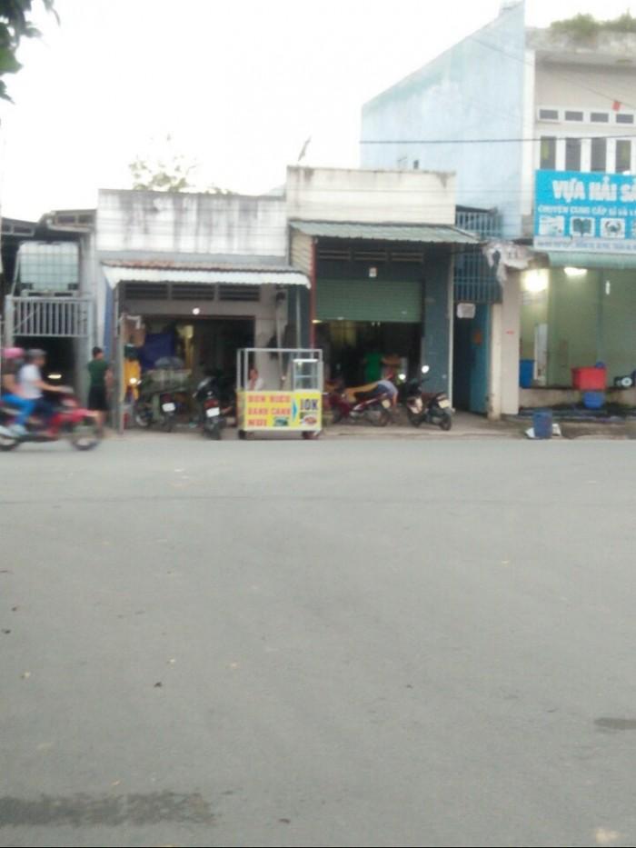 Nhà mặt tiền chợ Visip 1 ngay vòng xoay An Phú, Thuận An, Bình Dương