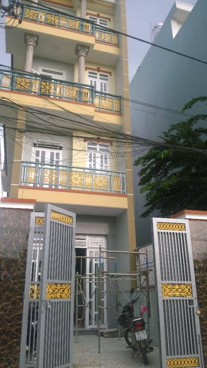 Nhà 445/ Tân Hòa Đông. (4x18,6) nhà đẹp kiên cố