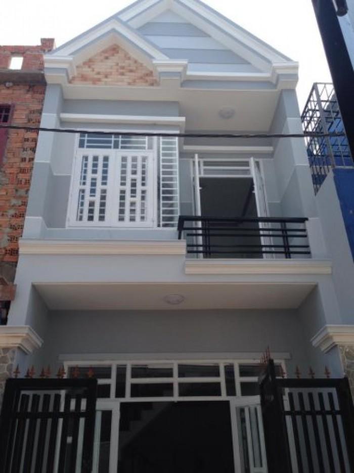 Nhà 4x13m, 1 lầu mới xây, ấp 5 Vĩnh Lộc B, Bình Chánh