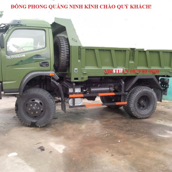 Bán xe Đông Phong DFM TD3.45TC4x4 trọng tải 3.45 tấn đời 2012