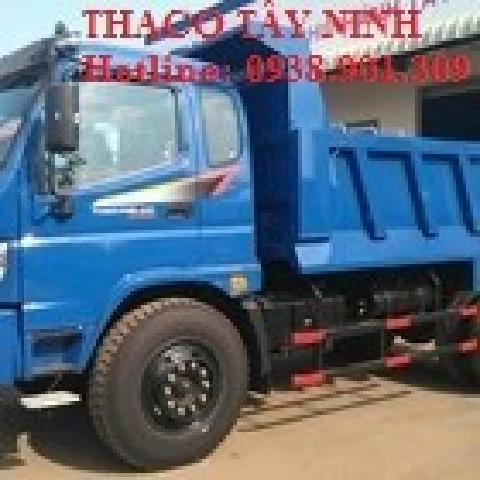 Xe tải ben THACO FORLAND FD9500. 9 ,1 tấn ,7.6m3, sản phẩm mới, 1