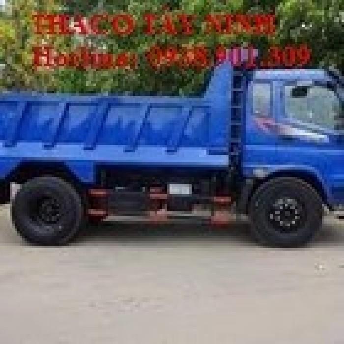 Xe tải ben THACO FORLAND FD9500. 9 ,1 tấn ,7.6m3, sản phẩm mới, 2