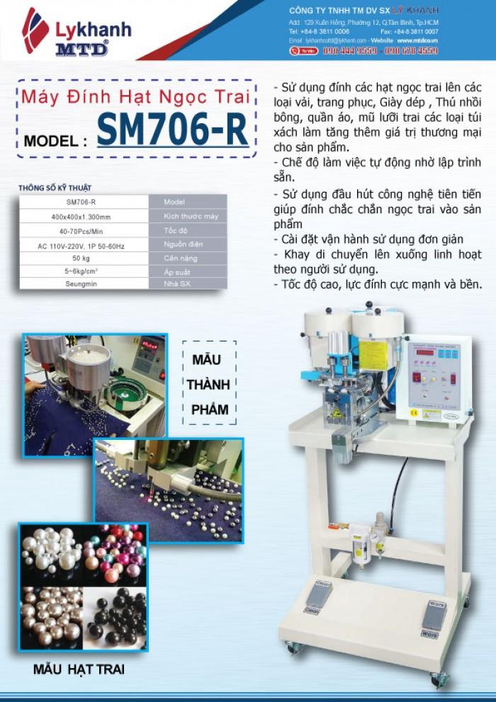 Máy đính hạt ngọc trai trang trí SM706-R1