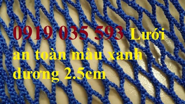 Lưới korean mắt 2.5cm dùng chống rơi cao tầng xây dựng