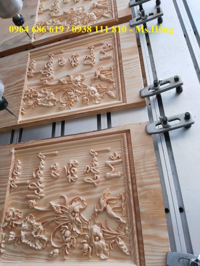 Máy đục tranh 1325 - 4 đầu, máy đục gỗ vi tính 4 đầu, máy cắt khắc cnc 4 đầu