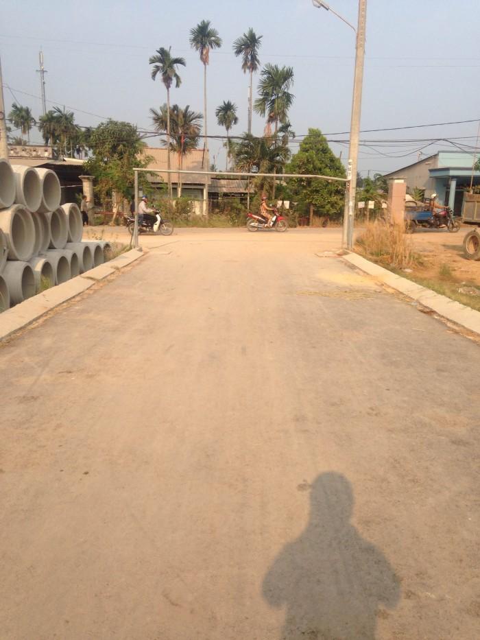Đất mặt tiền đường nhựa 8m, DT: (4m x 17m), đường Thạnh Xuân 25.
