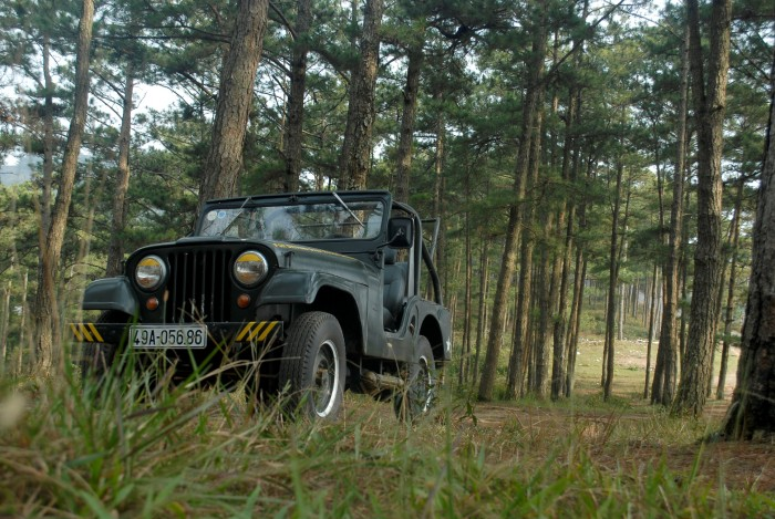 Jeep ca pô bầu, máy zin, chính chủ 3