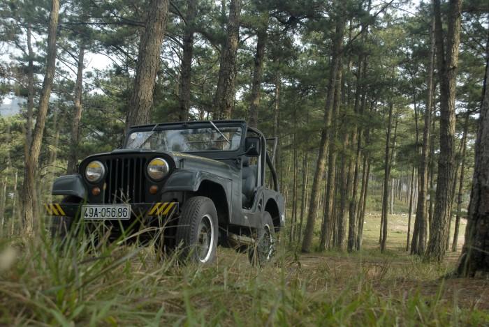 Jeep ca pô bầu, máy zin, chính chủ 6