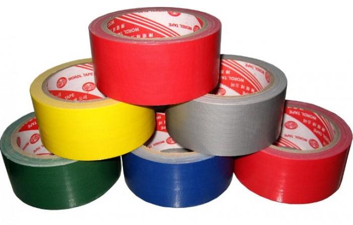 Băng keo vải đủ màu sản xuất tại xưởng0
