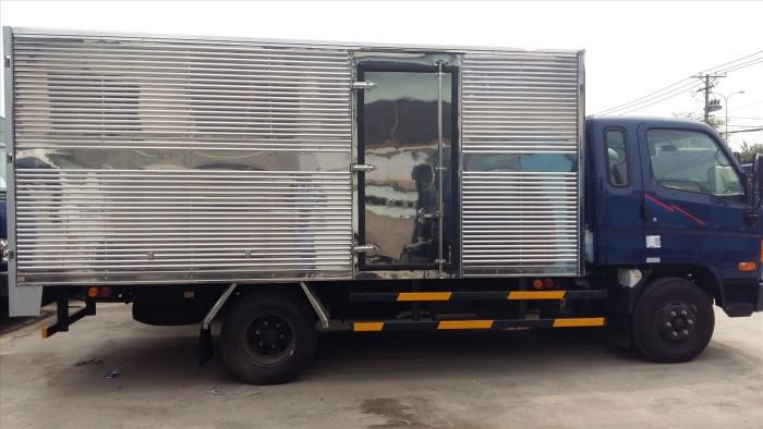 Xe tải Hyundai 3,5 tấn thùng kín nhập khẩu