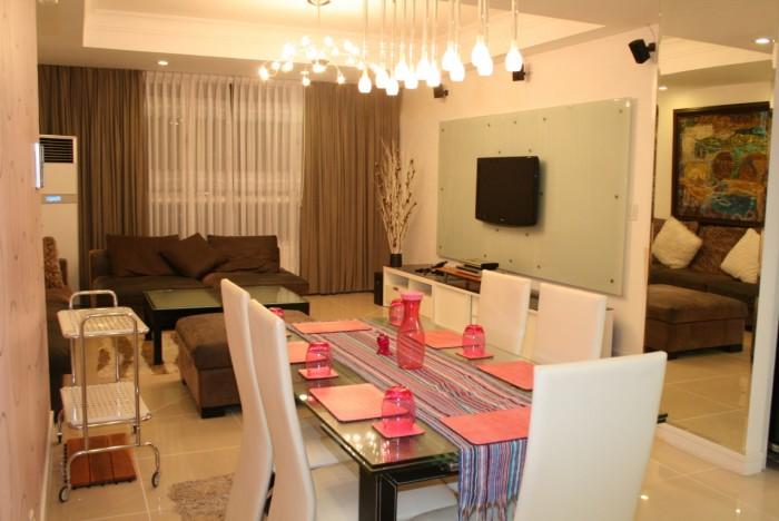 Căn hộ The Manor cho thuê giá rẻ 2 phòng ngủ, tiện nghi sang trọng
