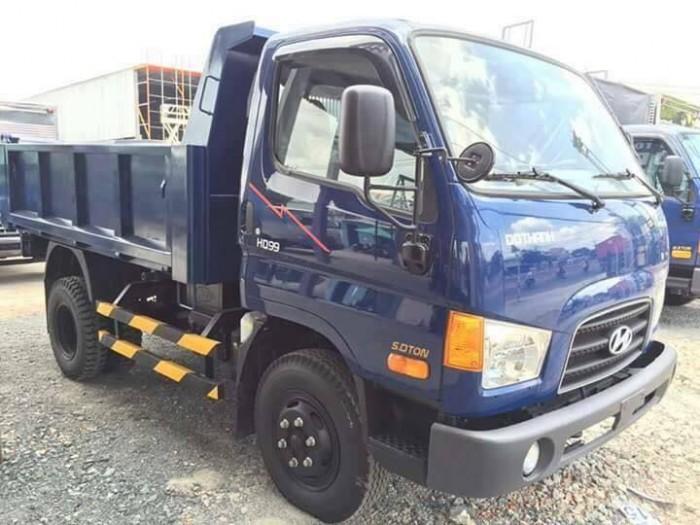 Hyundai hd99 thùng ben 5 khối giao ngay liên hệ giá tốt