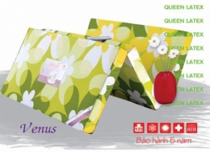Nệm Cao Su Venus Vạn Thành 160x200x10cm