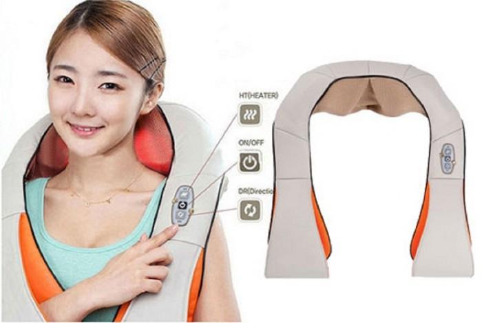 Đai massage vai, gáy hồng ngoại Neck Kneading 3393495