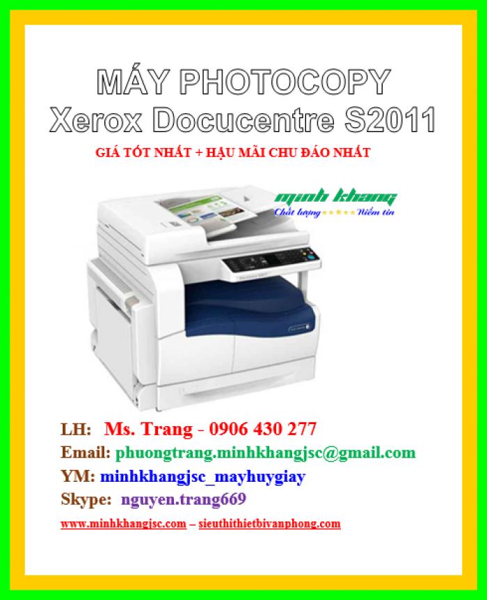 Máy photocopy để bàn Xerox 2011 CPS giá cực rẻ0