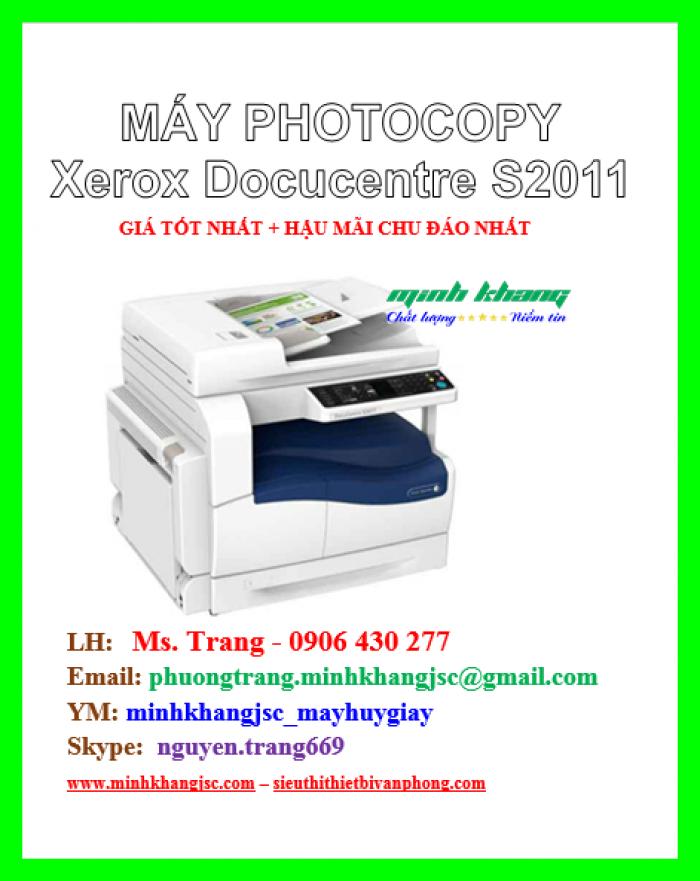 Máy photocopy để bàn Xerox 2011 CPS giá cực rẻ1