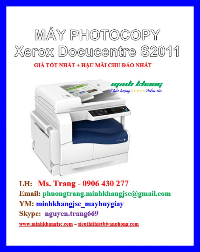 Máy photocopy để bàn Xerox 2011 CPS giá cực rẻ2