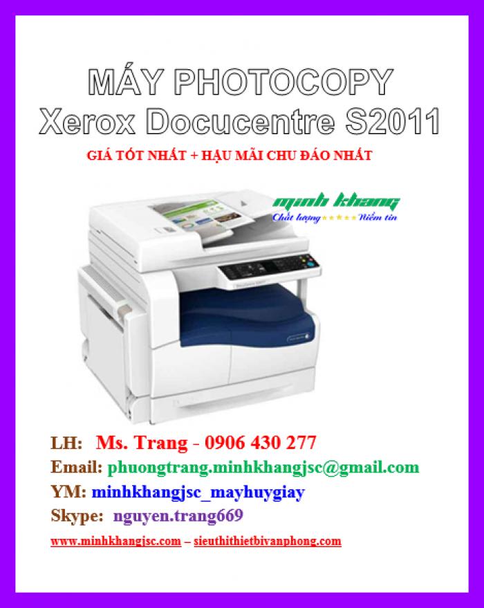 Máy photocopy để bàn Xerox 2011 CPS giá cực rẻ3