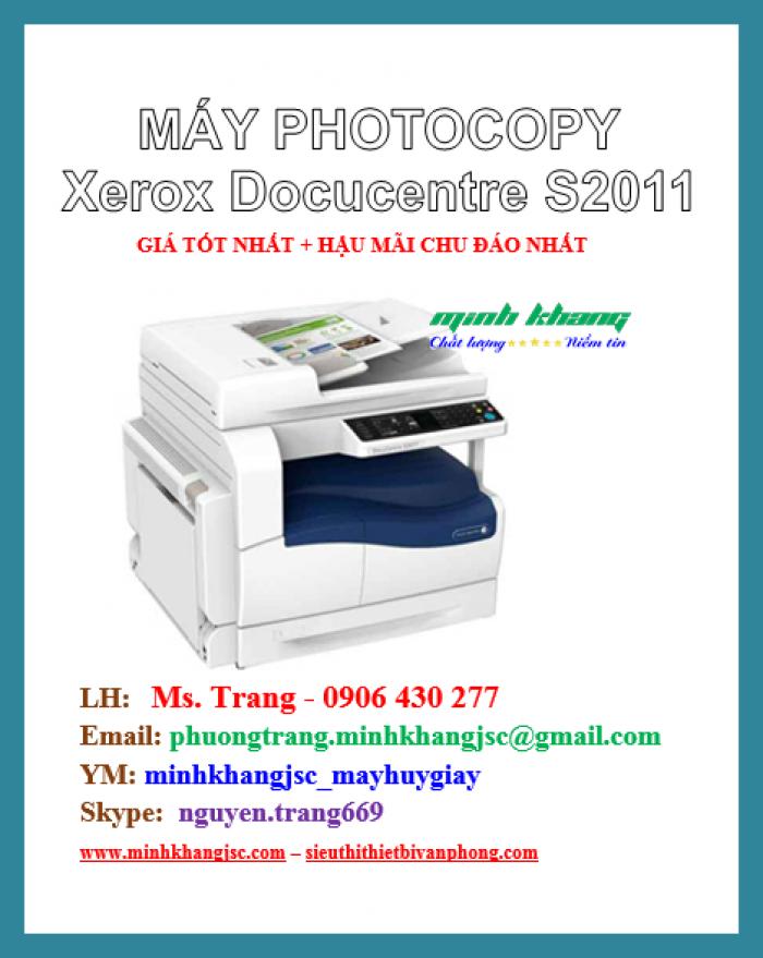 Máy photocopy để bàn Xerox 2011 CPS giá cực rẻ4