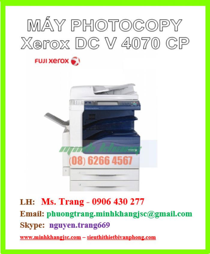 Máy photocopy Xerox V4070 CP giá cực rẻ1