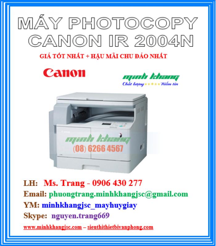 Máy photocopy để bàn A3 Canon 2004N in mạng kết nối wireless giá cực rẻ1