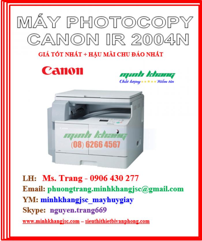 Máy photocopy để bàn A3 Canon 2004N in mạng kết nối wireless giá cực rẻ3