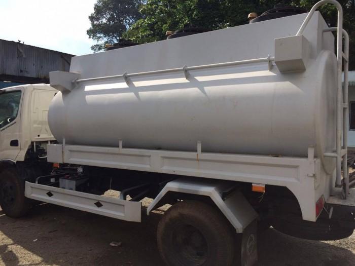 Xe xi téc Hino WU342L-130 4.4 tấn, 6 khối ( 2-1-3)