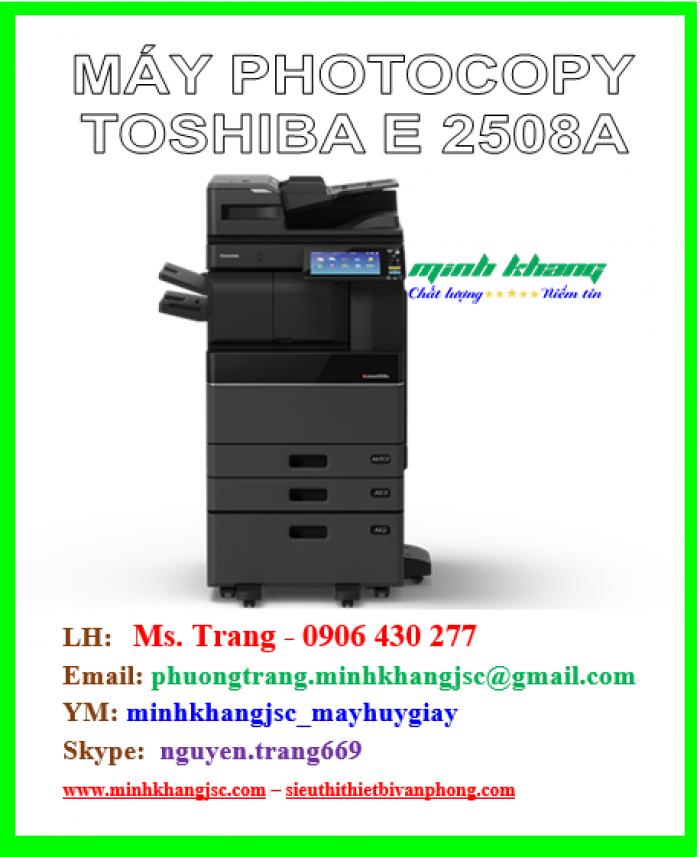 Máy photocopy Toshiba 2508a model 2016 giá cực rẻ1