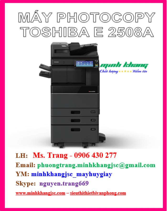 Máy photocopy Toshiba 2508a model 2016 giá cực rẻ0