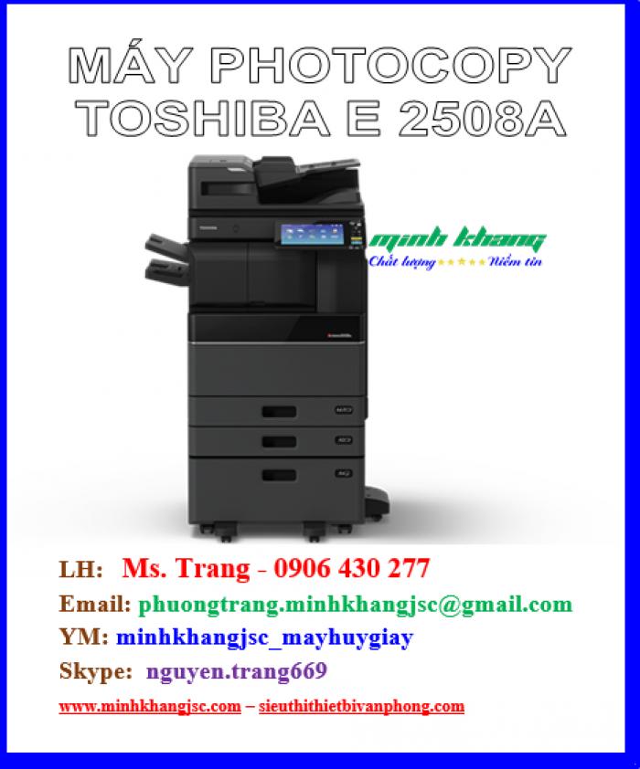 Máy photocopy Toshiba 2508a model 2016 giá cực rẻ2