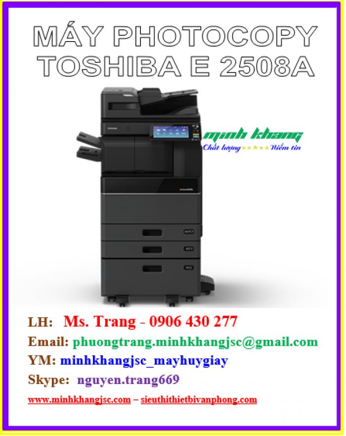 Máy photocopy Toshiba 2508a model 2016 giá cực rẻ3