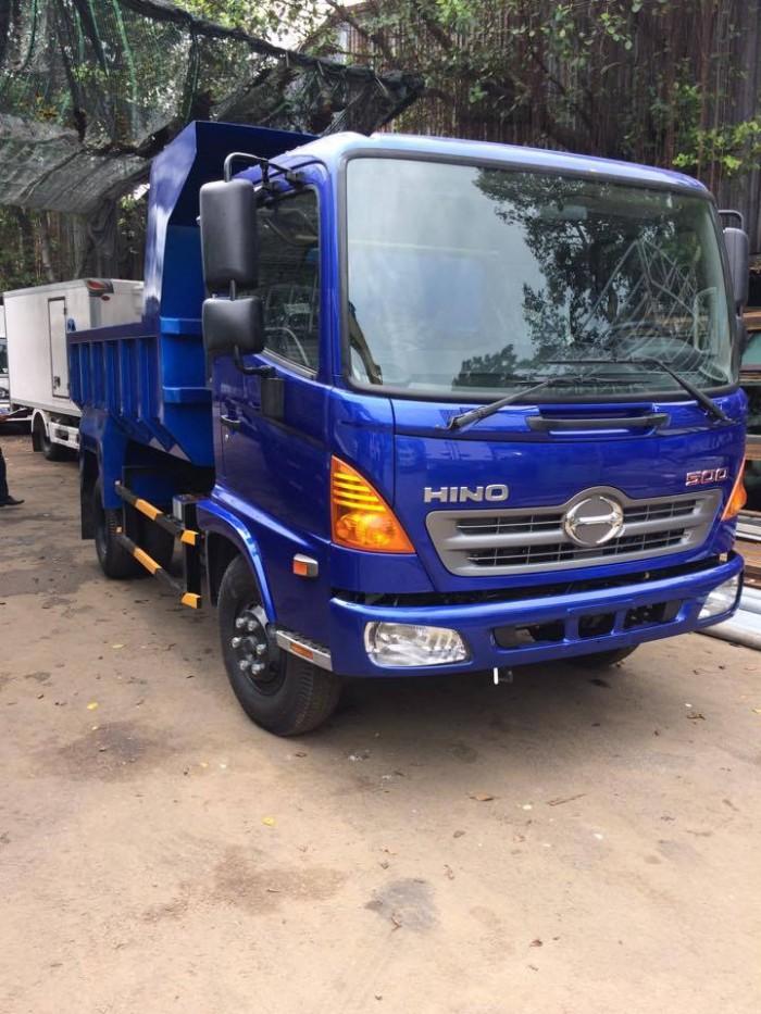 Xe tải ben Hino FC9JESW 5.8 tấn (4.7 khối), 2