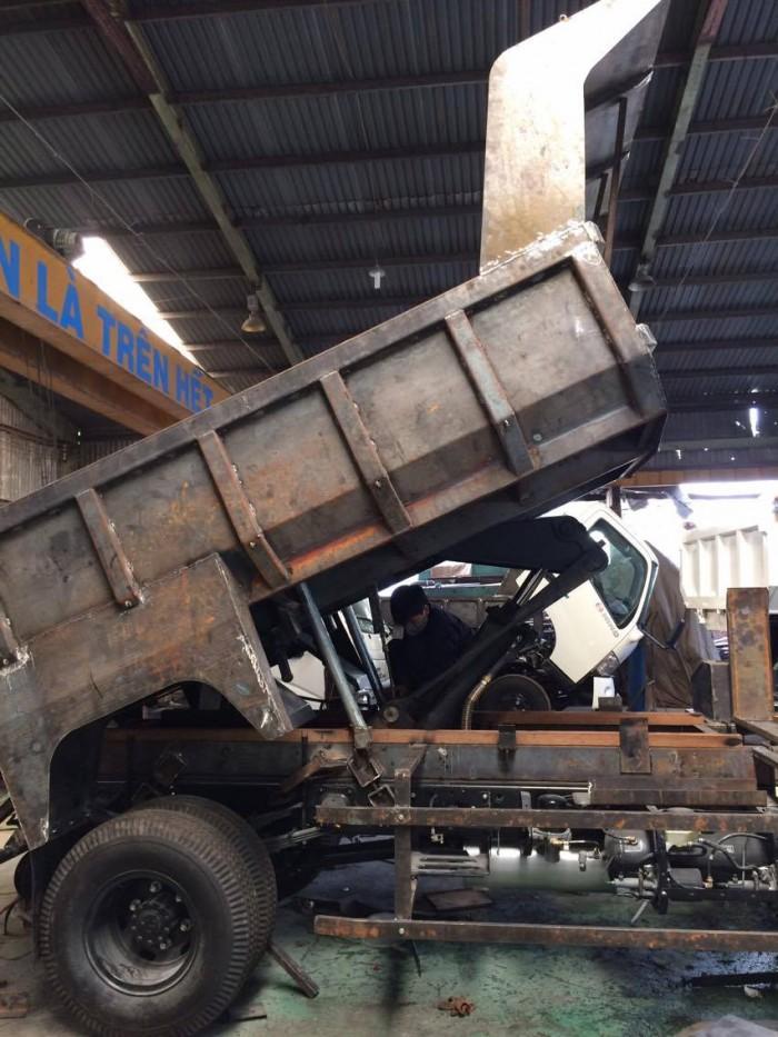 Xe tải ben Hino FC9JESW 5.8 tấn (4.7 khối), 4