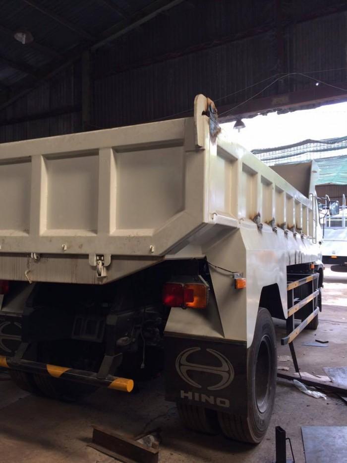 Xe tải ben Hino FG8JJSB , 8 tấn (7 khối), 4