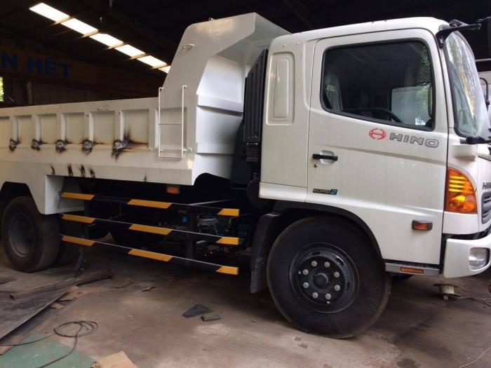 Xe tải ben Hino FG8JJSB , 8 tấn (7 khối), 3