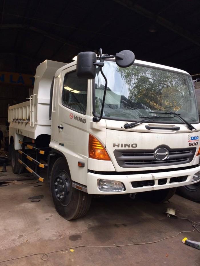 Xe tải ben Hino FG8JJSB , 8 tấn (7 khối), 5