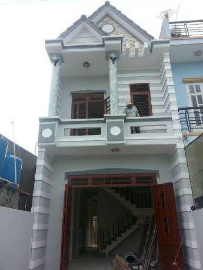 Nhà trung tâm Huyện Hóc Môn 1,22 tỷ Sổ Riêng