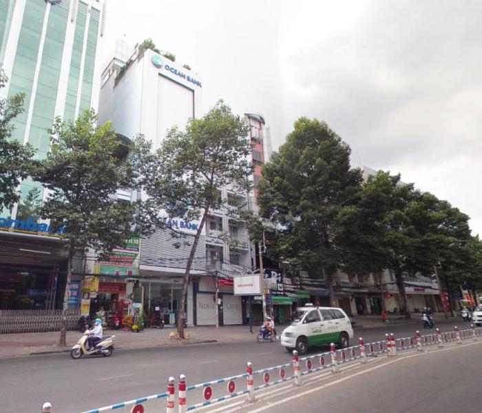 Cho thuê nhà mặt phố đường Nguyễn Thái Học, P.Phạm Ngũ Lão, Quận 1, DT: 8x20m, diện tích: 1600m2, 10 lầu